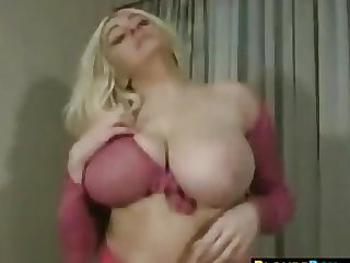 Blonde Slut With Large Breasts