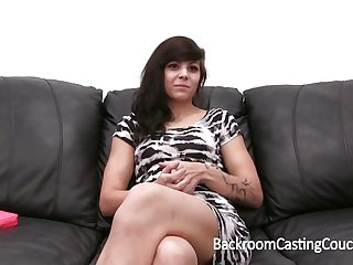 Tight Teen Anal and Facial Casting