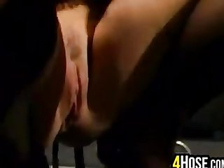 Busty Blonde Bitch Anal Fucked