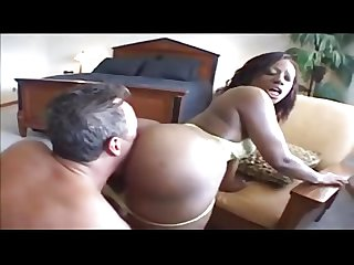 Perfect Black Ass fucked By White Men