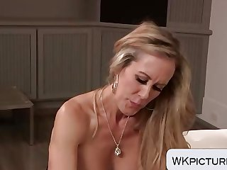 Brandi Love sucking and riding a cock big