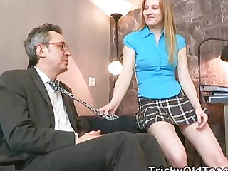 Young girl gets fucked