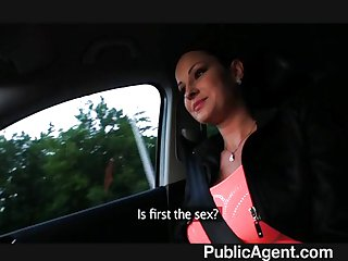 PublicAgent - Real life porn star fucking