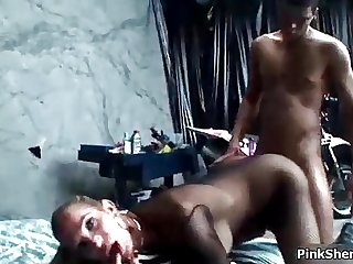 Horny awesome shemale with amazing boobs