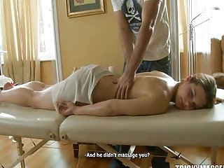First Massage then Sex