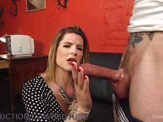 Cockslut Released From Chastity