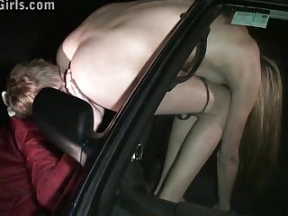 TEEN with BIG TITS public gangbang Part 3
