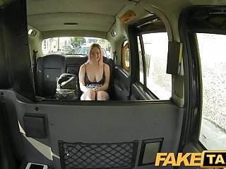 FakeTaxi - Student sucks cock for cash