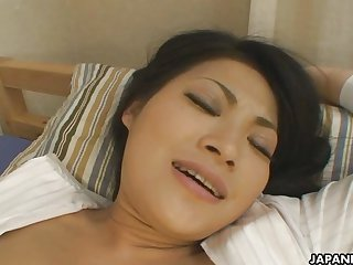 Horny Asian girl getting fucked hard