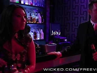 Wicked - Pornstars orgy at the club