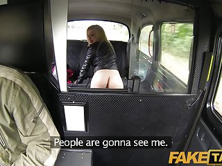 FakeTaxi - Perfect blowjob lips get to work