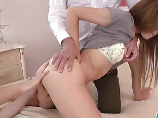 Wild porn show in group with insolent Reina