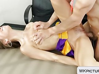 Riley Reid with small tits drilled hard
