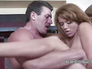 Sienna West fucks and takes the cum in her mo