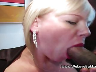 Busty mature allows anal from huge black cock