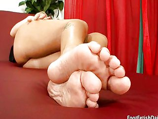 Foot Fetish with Emily Austin