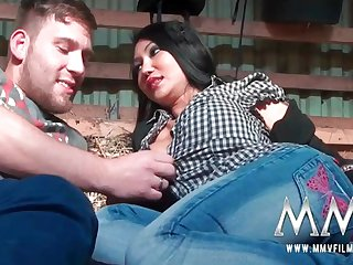 MMV Films KimXXX tiny whore with huge tits