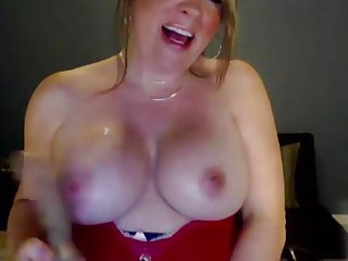 Big titted horny milf Lexis squirts
