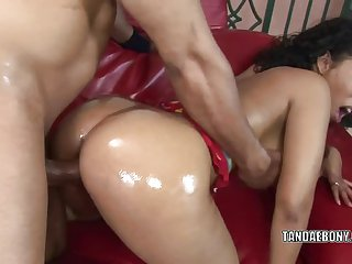 Donna Red gets her wet twat pounded hard