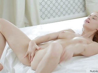 Russian redhead craves the taste of jizz