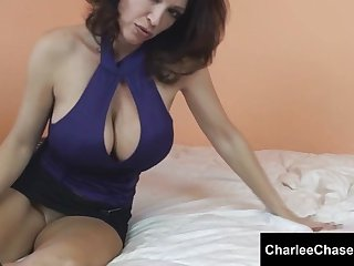 Horny Charlee Chase Smoking HOT pussy play