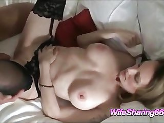 Amateur Busty Wife Shared With Hot Friend