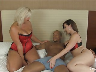 Big Tit Cougars Sara Jay and Carey Try Out Ne