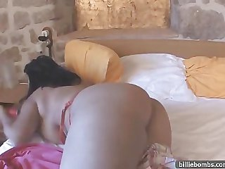 Bille Bombs big tits and wet pussy