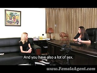 FemaleAgent - Ravishing blonde has lust fever