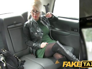FakeTaxi Massage therapist works her magic