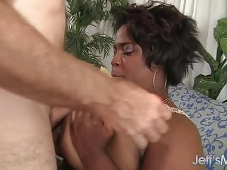 Black plumper Marliese Morgan hardcore sex