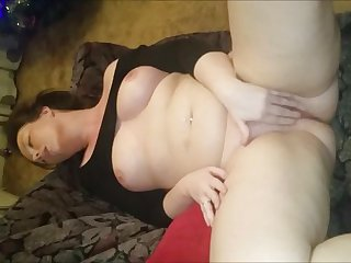 Busty Milf Squirter Gushes While Masturbating