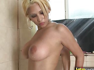 Busty spanish slut Paris Sweet rides cock