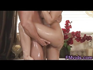 Hot bath with incredible hot blonde Madison I