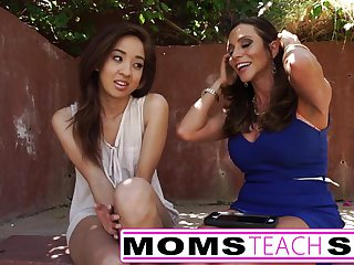 Moms Teach Sex - Step mom fucks daughters boy