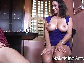 Persia Monir - Big Ass Babe Sucked Cock And F