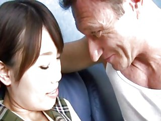 japanese girl gets fucked by dirty white man