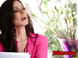 Kendra Lust cougar tutor teaches fucking