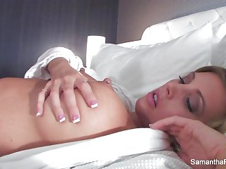 Samantha Saint gets fucked in her hotel room