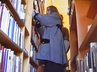 Russian teen fucked in russian library