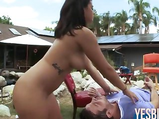 Keisha Grey juicy ass bounce while boned