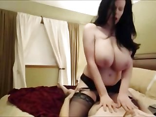 Cougar with the Most Amazing Big Tits Ever
