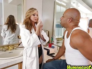 Julia Ann fucked by a humongus cock!